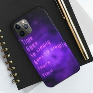 """TIME"" Case Mate Tough Phone Case"